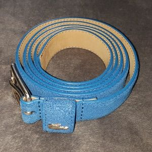 Lacoste Accessories - LACOSTE Suede Leather-Lined Belt